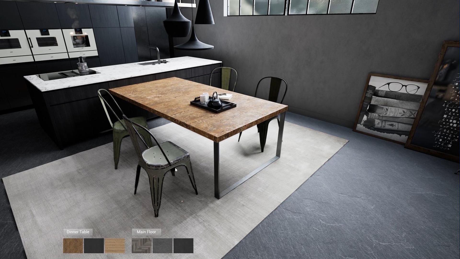 Interior Architecture Configurator (Unreal Engine) - Line