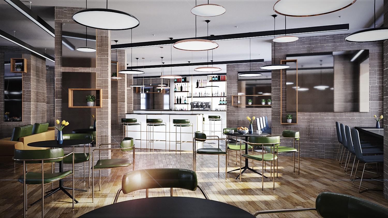 Architecture Rendering London | Architectural Visualisation CGI | Line Creative