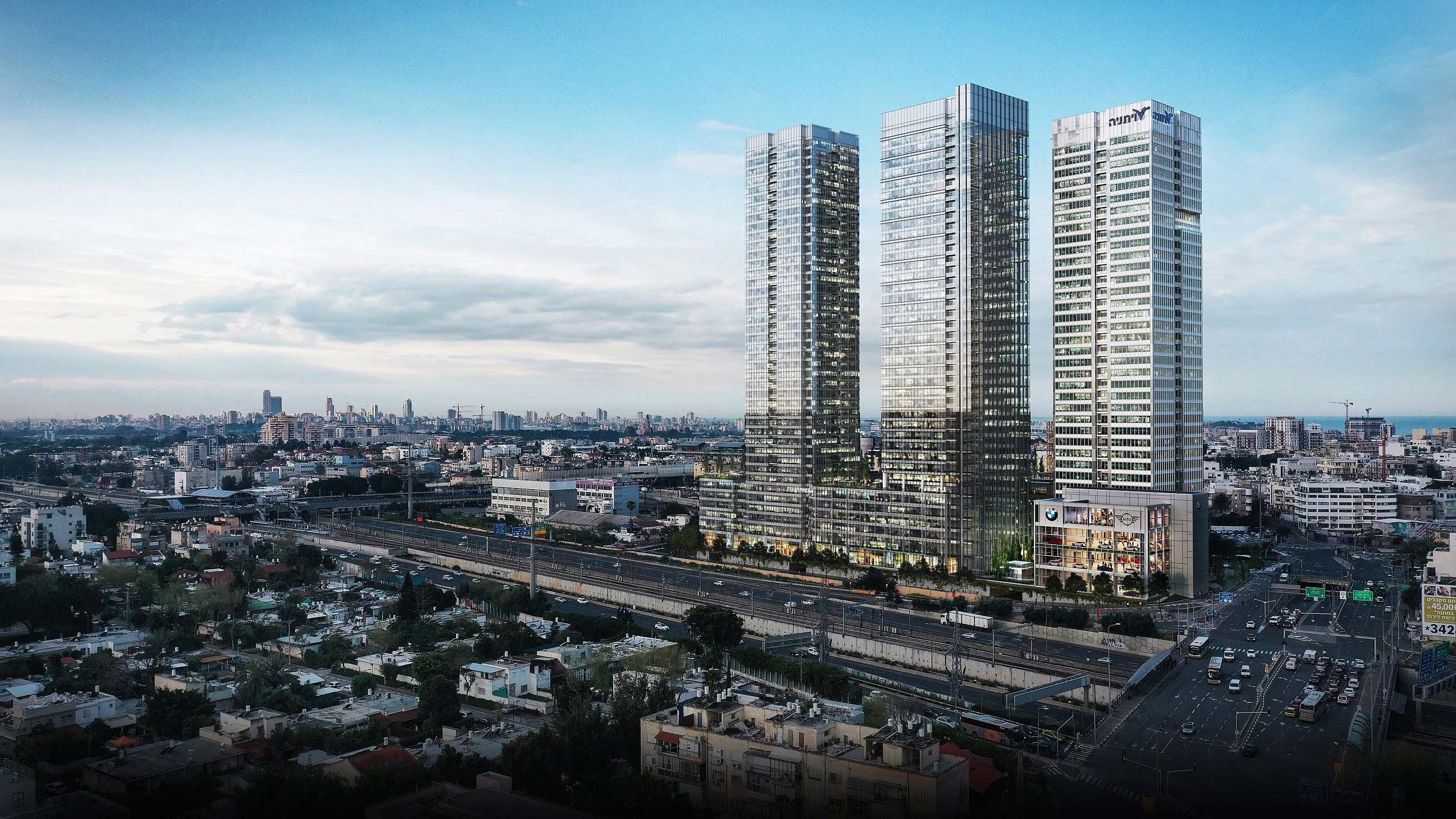 HaHarash 18 Tel Aviv | Architectural Visualisation CGI | Line Creative